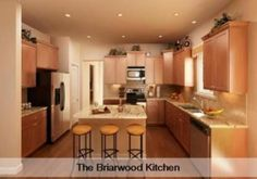 Briarwood kitchen by Lennar