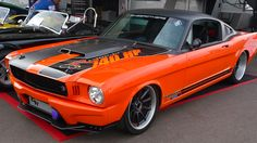 """The Ring Brothers' 1965 Mustang """"Producer"""" will be competing in the 2012 OUSCI"""