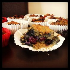 Muffins!! #cleaneating #clean #berries #paleo