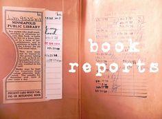4th grade scrapbook book report