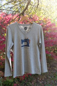 Gray Love Machine T-