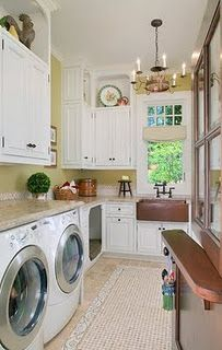 dream laundry room on Pinterest