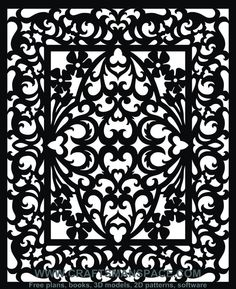 Scroll saw and fretwork vector patterns | FREE PATTERNS