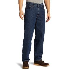 Levi's Men's 560 Comfort Fit Jean, Dark Stonewash, 38x34 (Apparel)