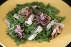 Squid Salad with Grilled Lemon Oregano Vinaigrette | Mark's Daily Apple