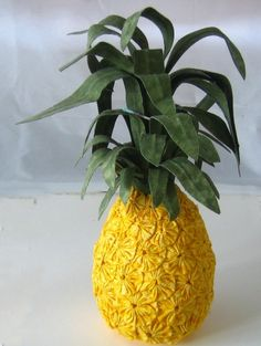 Yo Pineapple Delight crafted with Fabric by BigIslandRoseDesigns, $75.00
