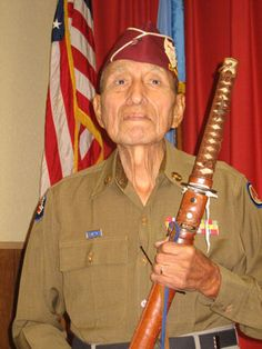 """Army Sergeant Alexander Mathews of Cache, Oklahoma, died of pneumonia on March 14, 2008 at the age of 88.    Mr. Mathews was a full-blood Pawnee Indian, born in Pawnee, Oklahoma on May 11, 1919. He attended Haskell Institute before joining the Army and serving in the Phillipines. Mathews was one of almost 80,000 American and Filipino soldiers who became prisoners of war when the American General surrendered to the Japanese at Baatan. He was part of the """"Baatan Death March."""""""