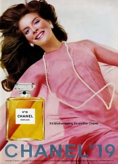 rene russo.. I wore Chanel No. 19 back in the mid to late 70's!