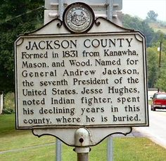 Jackson County West Virginia | Jackson County/Roane County - West Virginia Historical Markers on ...