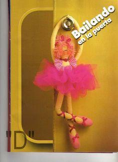 ARTESANATO FOFO: Bailarina de pano