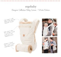 The Ergobaby carrier...they're the best