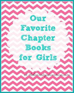favorite chapter books for girls  #homeschooling #30DayMom