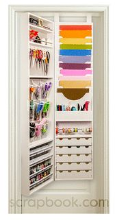 Jinger Adams - Craft Armoire  This would be a dream come true!