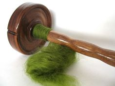 How to Spin with a Drop Spindle via www.wikiHow.com