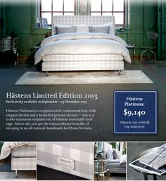 Hastens bed price list