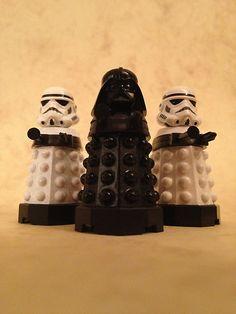 Vadalek and his Trooper Daleks