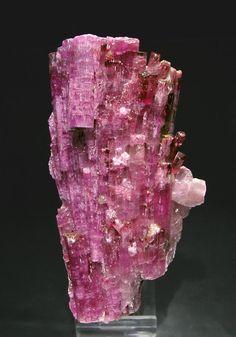 Elbaite (Rubellite) Jonas Mine, Itatiaia, Conselheiro Pena, Minas Gerais Brazil