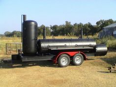 Custom smoker builted by Harold Cook. www.cooksfarmranch.com