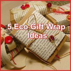 Eco Gift Wrap Ideas
