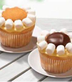 Lemon Daisy Cupcakes lemon daisi, cupcakes, cupcake recipes, food cook, cupcak recip, daisies, recip food, daisi cupcak, cooking