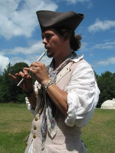 At a Fur Trade Rendezvous