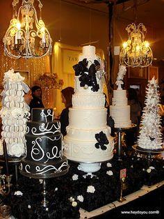 a black tie wedding