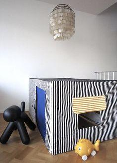 playhous, fold tabl, craft, cubbi hous, kid idea, kid creat, card tabl, tabl cubbi, dining tables