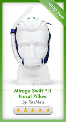 The ResMed Mirage Swift II comes with many design improvements over the original Mirage Swift. Improvements include being more quiet, smaller, lightweight, and travel friendly, improved pillows, and choice of tube position. Click on the image for more information! newli releas, sleep apnea, cpap mask, masks, rate cpap, cpap machin, health, cpap product, top rate