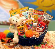 ring bearer & flower girl thank you baskets gifts
