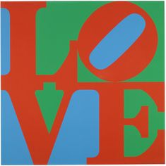 How awesome would this look customized on your iPhone or BlackBerry? Check it out at www.emblm.ca  Robert Indiana - LOVE