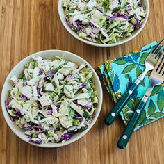 Spicy Cabbage Slaw with Chicken and Cilantro (S)