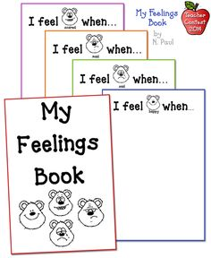 Kids can write (or draw) about their feelings in this sweet & simple book created by N. Paul. Images are from our 'Kidoodlez for Life' set.  DJ's Back to School Teacher Contest 2014
