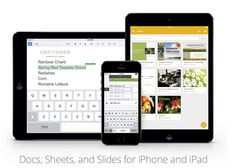 Google releases Slides app for iPhone & iPad, updates to Docs and Sheets