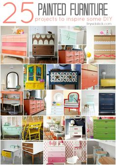 25 Painted Furniture Projects to Inspire