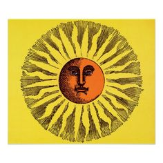 retro sunshine illustration - Google Search