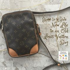 Got a new to you vintage or old Louis Vuitton Handbag? Here is how to give new life to an old Louis Vuitton purse with tips on how to clean vintage louis vuitton bags!