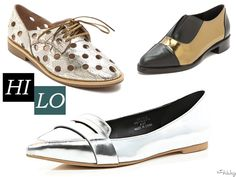 Hi/Lo: Metallic Oxfords, Loafers & Brogues