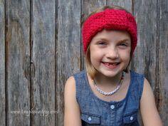 Free Easy Turban Headband Crochet Pattern {Child 3-10 Years}