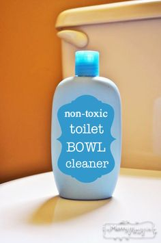 How To Make Non-Toxic Toilet Bowl Cleaner
