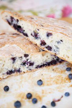Wild Blueberry Bannock