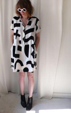 Dusen Dusen Objects Oversize Tee Dress