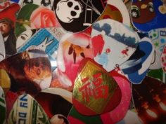 30 Upcycled Guitar Picks by thejewelrydream on Etsy, $1.99