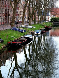 Canal Reflection, Enkhuizen
