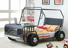 Twin Jeep Jeep Bed Boys Bed Kids Beds Approved Bed Little Boy Bedrooms