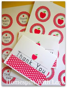 apple printables for the teacher