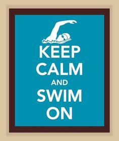 swim on