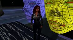 """""""Masks of Life"""" animation by Talia Sunsong. Partly inspired by Fritz Lang """"Metropolis""""."""