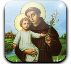 June 13 - St. Anthony of Padua - There is perhaps no more loved and admired saint in the Catholic Church than Saint Anthony of Padua, a Doctor of the Church. Though his work was in Italy, he was born in Portugal. He first joined the Augustinian Order and then left it and joined the Franciscan Order in 1221, when he was 26 years old. The reason he became a Franciscan was because of the death of the five Franciscan protomartyrs — St. Bernard, St.