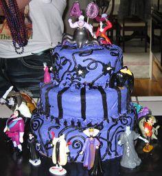 Adventures In Cupcaking Disney Villains Cake