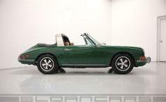 1968 912 Targa (soft window) Irish Green/Tan restored | Sloancars